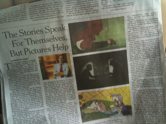 StoryCorps NYT article